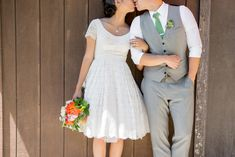 Coral and gray vineyard wedding - http://fabyoubliss.com/2014/09/17/elliston-vineyards-wedding-by-vivian-chen-photography