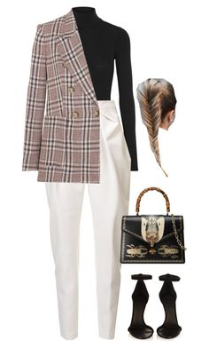 """Sans titre #2469"" by frenchystyle ❤ liked on Polyvore featuring Isabel Marant, Theory, Delpozo, Gucci and Étoile Isabel Marant"