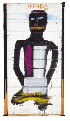 Portrait of Reid Snow- Jean-Michel Basquiat