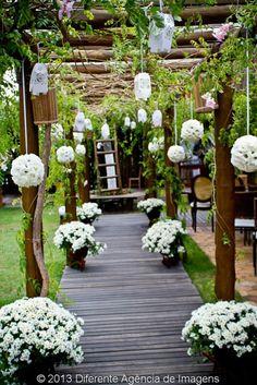 decoração rústica de casamento | Profissão Noiva!