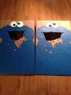Cookie Monster Cornhole