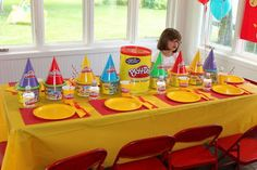 Play doh Birthday Party...