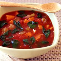 Weight Watchers - Slow Cooker Vegetable Soup - 1 Points Plus