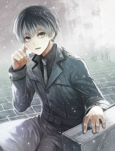 Tokyo Ghoul, Haise, which is 100% Kaneki