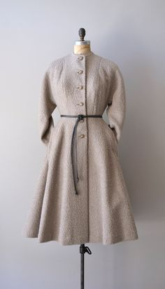 vintage 1950s princess coat