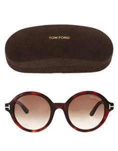 Gafas de sol redondas Carter de Tom Ford