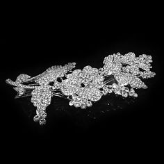 Alloy Hair Combs With Rhinestone Wedding Headpieces – USD $ 33.19