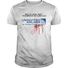 Exclusive design not available in stores. Get your United Airlines inspired parody T-Shirt today. Available in various sizes, styles and colors. Share with someone who would love this Tee.