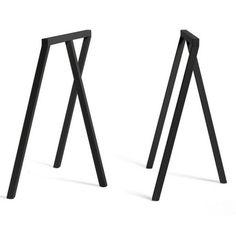 Loop stand frame schragen Hay zwart H72cm