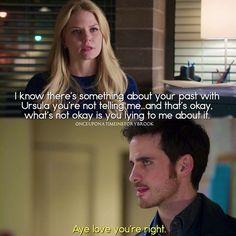 """#OnceUponATime 4x14 """"Unforgiven"""" - Emma and Hook"""