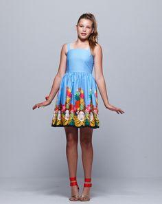 "Pavement United Brands ""Fruit Face"" dress"