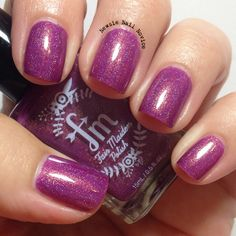 Fair Maiden Polish Merry Plum Berry & Bright
