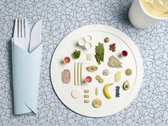 Designer sarah parker and photographer micheal bodiam have teamed up to re-interpret a series of dishes based off the diets olympian nutritionist dan benardot recommends for high-caliber athletes.