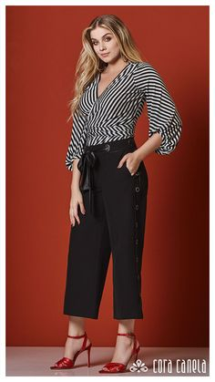 Look book 4 - cora canela - artofit Fashion Updates, Fashion Trends, Curvy Dress, Blouse Styles, Women's Fashion Dresses, Casual Chic, Fall Outfits, Plus Size, Couture
