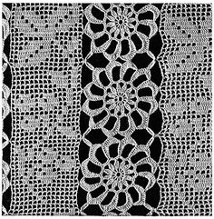 Heritage Bedspread #688. GAUGE: Wheel measures 4½ inches in diameter when blocked. Free crochet pattern.