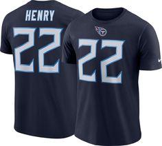 Nike Men s Tennessee Derrick Henry  22 Pride Logo Navy T-Shirt 47eba5d8a