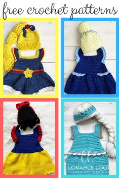 Crochet Baby Patterns Free crochet patterns for these adorable baby Halloween costumes! Crochet Toddler, Crochet Bebe, Baby Girl Crochet, Crochet Baby Clothes, Crochet For Kids, Free Crochet, Crochet Hats, Booties Crochet, Crochet Baby Dresses