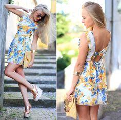 Vestido florido com costas de fora http://vilamulher.terra.com.br/costas-de-fora-para-o-verao-2013-14-1-32-2400.html