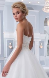 Buttons Chapel Train Ball Gown Natural Sweetheart Wedding Dresses hicf1054