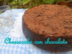 Para los que les gusten las tartas de chocolate y las de queso: cheesecake de chocolate