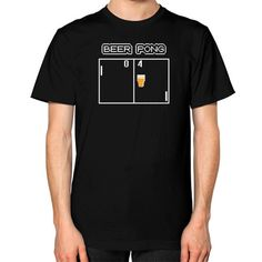 Beer Pong Retro Game Craft Beer Unisex T-Shirt - Staunchly Craft - 1