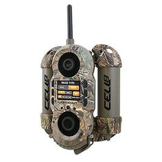 Crush Cell 8 Lightsout Digital Trail Camera, Realtree Xtra