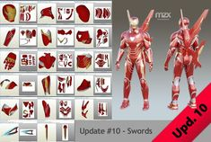 Mark 48 Infinity War model, pattern for make wearable suit, DIY. ~~~ UPDATE ~~~ Fully revised, all new parts. My and unfold. Default size - (good for height). All parts are subject to change. Iron Man Helmet, Iron Man Suit, Iron Man Armor, Infinity War, Airsoft Girls, Hand Cannon, Airsoft Helmet, Wearable Device, Digital Pattern