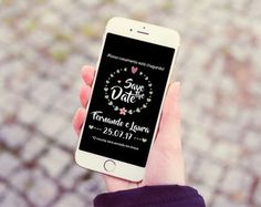 Save the Date - Digital    #adesivo #tags #personalizados #papelaria #personalizada #ninedesign #elo7 #rotulos #festa #aniversario #kitfesta #imprimir #artedigital #arteonline #savethedate #digital #conviteonline #convitecelular