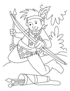 clip art archery outline
