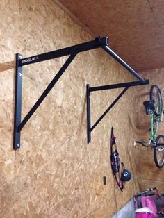 Got my wife the P-4 pull up bar and she loves it. Easy installation and very sturdy. I'm #245 and kipping is no problem.