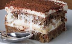 cook's illustrated Tiramisu - well worth the bones Small Desserts, Summer Desserts, Just Desserts, Delicious Desserts, Trifle Desserts, Cookie Desserts, Chocolate Desserts, Dessert Recipes, Chocolate Cake