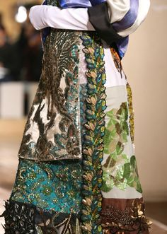There's a Pattern Here, Maison Martin Margiela Haute Couture F/W. 2014