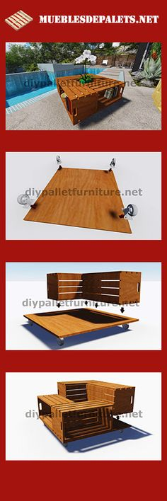 Te explicamos como hacer sofás, camas, estanterías, mesas... Muebles de palets es la opción más económica para decorar tu casa
