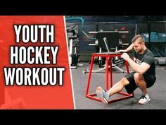 Youth Bodyweight Hockey Workout At Home Workout Youtube Hockey Workouts Hockey Kids Hockey Training