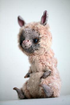 Fantasy | Whimsical | Strange | Mythical | Creative | Creatures | Dolls | Sculptures | ☥ | llama by da-bu-di-bu-da