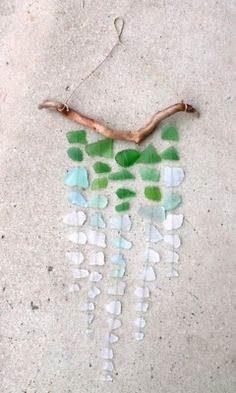 WOW! Ive been using this new weight loss product sponsored by Pinterest! It worked for me and I didnt even change my diet! I lost like 26 pounds,Check out the image to see the website, Seaglass Windchime. Would love to make this! Love the colors.