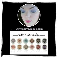 """I LOVE our Splurge Cream Shadows!!! Check out all of the new MATTE colors!  Try on brows, cheeks, and lips, too! 💖 (I'm wearing """"Happy"""" on my eyes in this pic.) #splurge #cream #creameyeshadow #eyeprimer #eyeshadow #brow #browsonfleek #brows #matte #highlight #contour #blush #lip #lips #versatile #new #spring #younique #abcyounique"""
