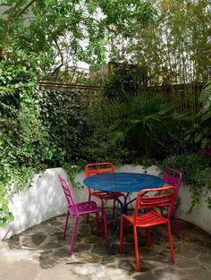 Home & Garden: Une maison colorée au nord de Londres