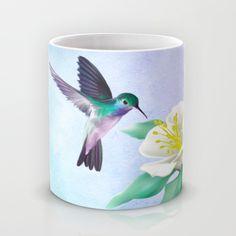 hummingbird. Mug by Haroulita | Society6