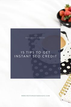Here are the best tips to getting found in Google search - almost instantly! Take a look at these 15 Tips to get INSTANT SEO Credit. SEO Tips