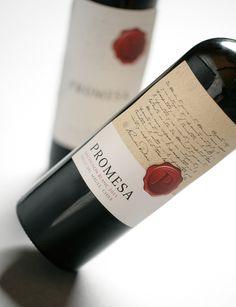 Chilean Wine Label: Promesa
