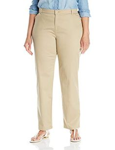 6880a97baf4 Lee Women s Plus-Size Relaxed-Fit All Day Pant