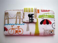The Big Apple Patterned Women's Wallet by craftyatnight on Etsy, $40.00