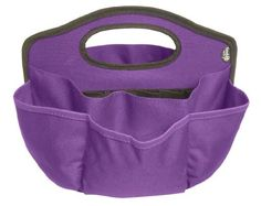 Find It Supply Caddy, 8.75 x 12 Inches, Canvas, 6 Pockets, 6 Compartments, 10 Storage Loops, Purple (FT07203) by Find It, http://www.amazon.com/dp/B004R9Y4HA/ref=cm_sw_r_pi_dp_C1sbsb0FWJ24T