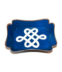 Nautical Knot Trinket Tray - perfect for a beachy bedroom or dropping keys at the entry