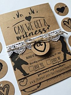 Wedding Invitation Rustic Southern Country by HelloSunSHINExx