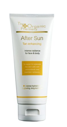 After Sun. A light and nourishing after sun cream. Nourishes, soothes and hydrates the skin. Helps calm burnt skin