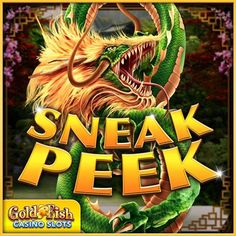 Are you ready for a little action and to fire up those reels? Check out the Sneak Peek of Forbidden Dragons!!!  #goldfishcasino #bigwin #jackpot #slots #goldfishcasinoslots #slotaddict #mobileslots #casino #forbiddendragons #dragon #fire