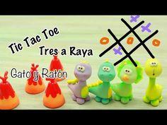 Regalo Para el Día del Niño | Tic Tac Toe | Pasta Flexible - YouTube