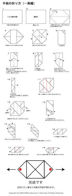 Pull Tab Envelope Fold